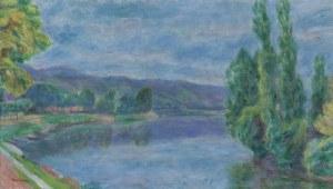 Pankiewicz Józef, SEKWANA W LES ANDELYS, 1920