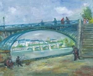 Zucker Jakub (Jacques), MOSTY PARYŻA: PONT DES ARTS I PONT NEUF