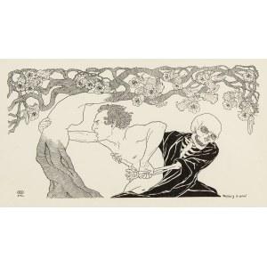 Edward Okuń (1872 Wólka Zerzeńska - 1945 Skierniewice), L`amore desperato, 1902 r.