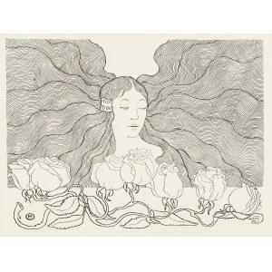 Edward Okuń (1872 Wólka Zerzeńska - 1945 Skierniewice), O poranku. Rozwiały się twoje włosy…, 1902 r.