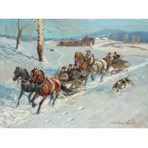 Roman Antoni Breitenwald (1911 Piotrków Trybunalski – 1985), Wyjazd na polowanie