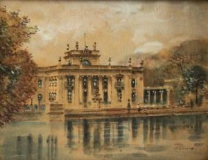 Marian Puchalski (1912-1970), Łazienki Królewskie - Pałac na Wodzie