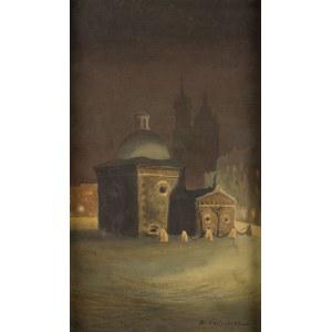 Stanisław Fabijański (1865 Paryż - 1947 Kraków), Kościół Św. Wojciecha na Rynku Głównym w Krakowie