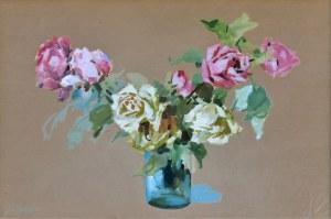 Erno Erb (1890-1943), Róże w wazonie