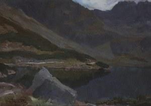 Michał Stańko (1901-1969), Jezioro w Tatrach, 1961