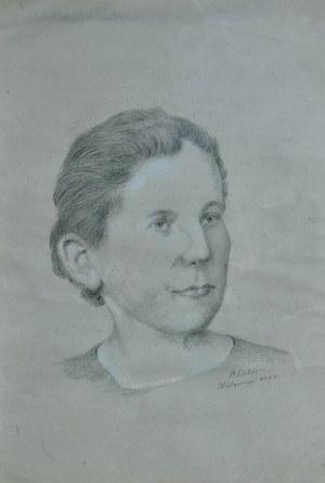 Paweł Steller (1895-1974), Portret Wiktorii Polewkowej, 1972