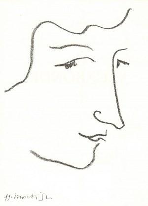 Henri Matisse (1869-1954), Colette, 1951