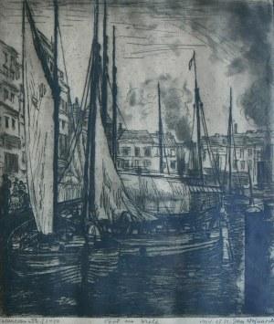 Jan Wojnarski (1879-1937), Port na Wiśle