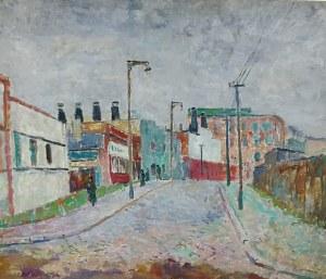 Zdzisław Przebindowski (1902-1986), Ulica w Gdyni, 1949