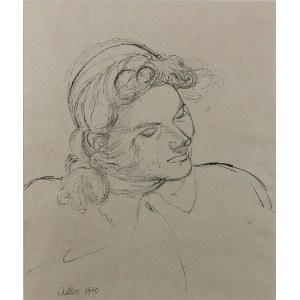 Jankiel ADLER (1895-1949), Głowa kobiety, 1940