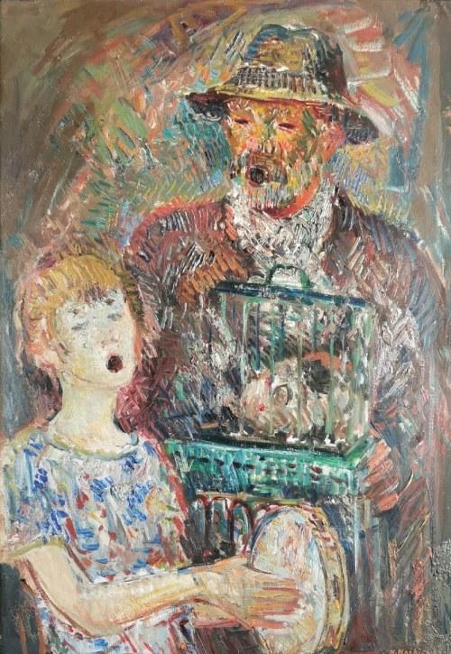 Konstanty MACKIEWICZ (1894-1985), Kataryniarz, 1934