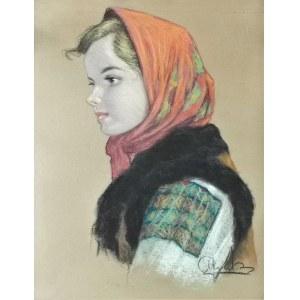 Longin ADAMIECKI (1914-1945), Dziewczyna huculska