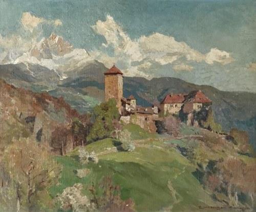 Edward Harrison COMPTON (1881-1960), Pejzaż alpejski, 1927