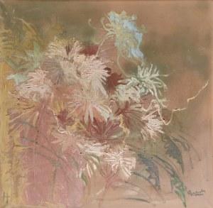 Halina BRZESKA-CIEŚLIŃSKA (1923-2004), Kompozycja kwiatowa