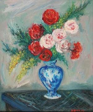 Jakub  ZUCKER (1900-1981), Kwiaty w wazonie