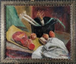 Abraham WEINBAUM (1890-1943), Martwa natura [W kuchni], ok. 1935