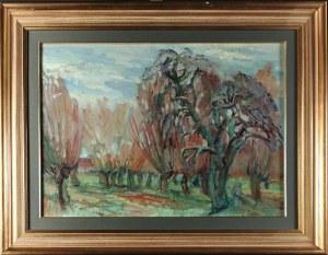 Henryk EPSTEIN (1890-1944), Pejzaż z drzewami