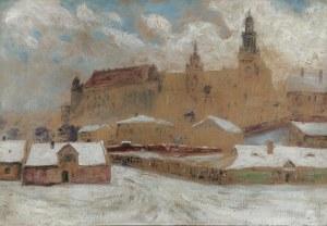 Stanisław Ignacy Poraj FABIJAŃSKI (1865-1947), Widok na Wawel