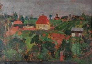 Antoni BARTKOWSKI (1891-1974), Pejzaż z Orłowej, 1919
