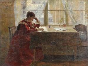 Wincenty WODZINOWSKI (1866-1940), W domowym zaciszu, 1896