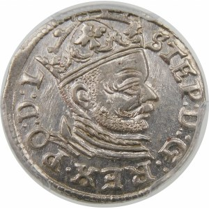 Stefan Batory, Trojak 1583, Ryga – rozety