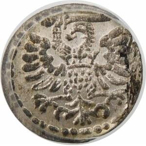 Zygmunt III Waza, Denar 1595, Gdańsk