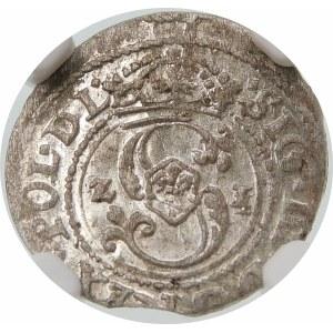 Zygmunt III Waza, Szeląg 1621, Ryga – POL D L – ciekawostka