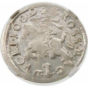 Zygmunt III Waza, Grosz 1609, Wilno – Orzeł i Pogoń bez obwódki
