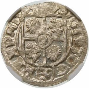 Zygmunt III Waza, Półtorak 1614, Bydgoszcz – Awdaniec w tarczy