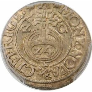 Zygmunt III Waza, Półtorak 1620, Ryga – Klucze – bez Lisa