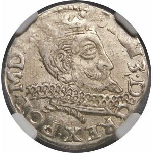 Zygmunt III Waza, Trojak 1598, Wschowa – kwiatek, I-F – SIGI 3 … POL