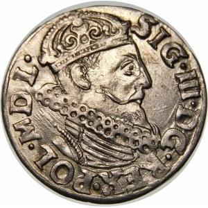 Zygmunt III Waza, Trojak 1619, Kraków