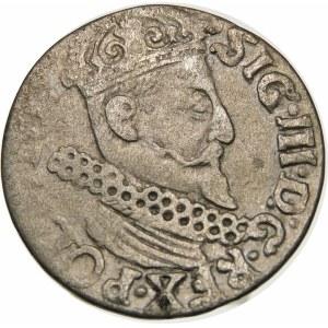 Zygmunt III Waza, Trojak 1622, Kraków – Pogoń bez miecza