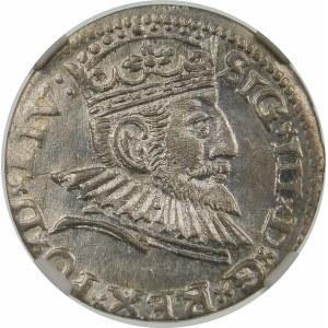 Zygmunt III Waza, Trojak 1593, Ryga – LIV: