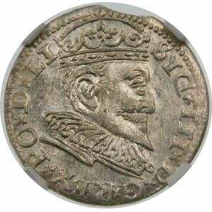 Zygmunt III Waza, Trojak 1594, Ryga – LI – krzyżyki