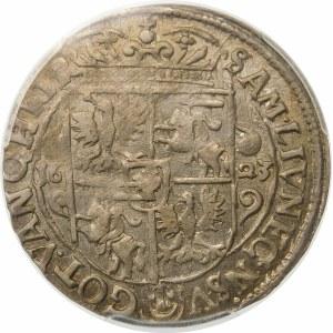 Zygmunt III Waza, Ort 1623, Bydgoszcz – PRV M – korona z krzyżykami i bez pałąków