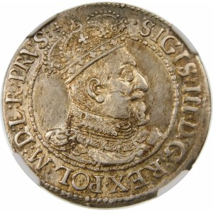 Zygmunt III Waza, Ort 1617, Gdańsk – kropka