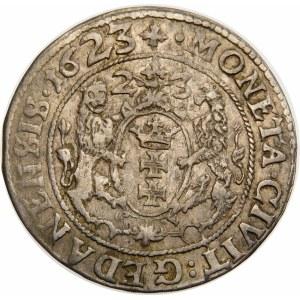 Zygmunt III Waza, Ort 1623, Gdańsk – podwójna data