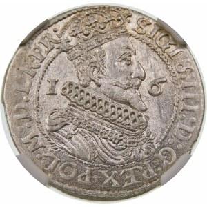 Zygmunt III Waza, Ort 1624/3, Gdańsk – data przebita ∙2∙4 – PR