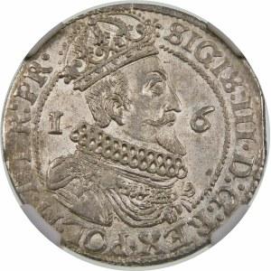 Zygmunt III Waza, Ort 1624/3, Gdańsk – data przebita ∙2∙4∙ – PR