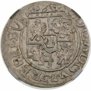 Jan II Kazimierz, Półtorak 16/161/6 GBA, Lwów – podwójna przebitka – rzadkość
