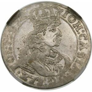 Jan II Kazimierz, Szóstak 1661 TT, Bydgoszcz – z obwódkami