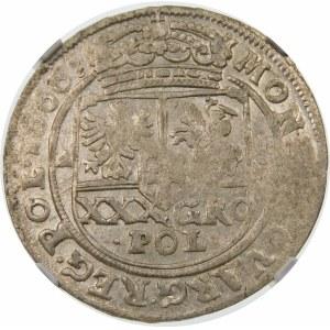 Jan II Kazimierz, Tymf 1666 AT, Bydgoszcz – SALVS - małe i