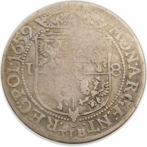 Jan II Kazimierz, Ort 1659 TLB, Kraków – Ex. Czapski Collection