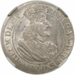 Jan II Kazimierz, Ort 1658, Gdańsk – GEDANENSIS – data bez przebicia