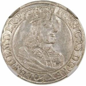 Jan II Kazimierz, Ort 1660, Gdańsk – SUE – dwie gałązki – nieopisana
