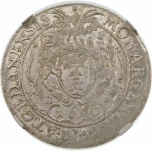 Jan II Kazimierz, Ort 1660, Gdańsk – SUEC - trzy gałązki – hybryda