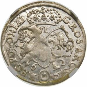 Jan III Sobieski, Szóstak 1682 TLB, Bydgoszcz – odmienne popiersie