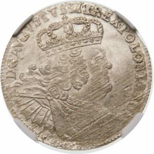 August III Sas, 8 groszy 1753 EC, Lipsk