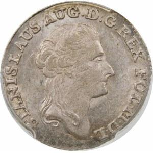 Stanisław August Poniatowski, Złotówka 1791 EB, Warszawa